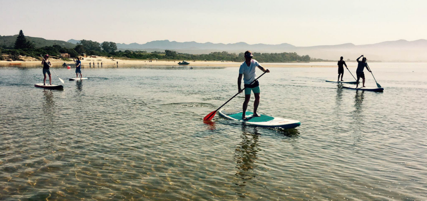 Stand Up Paddle Boarding Lessons Plettenberg Bay