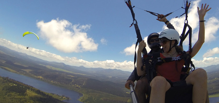 Things to do Sedgefield Paragliding