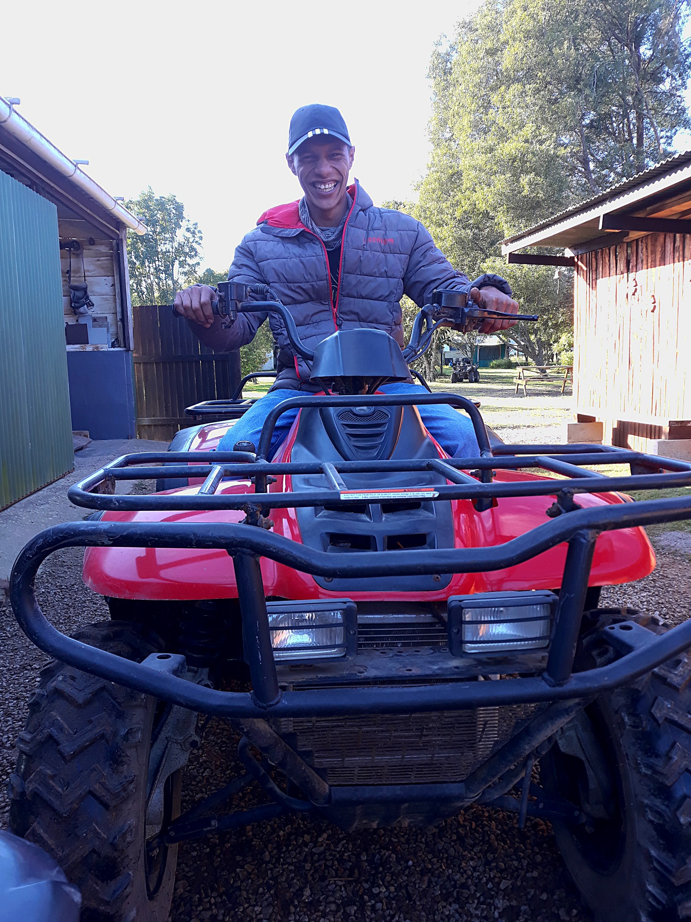 Quadbiking in the Gardenroute